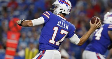 Allen continues with 2nd team offense as Bills inch closer to Browns game