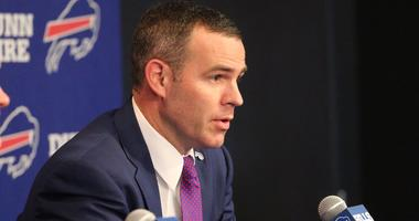 Beane reiterates Bills won't draft for need; says team doesn't need to be in top ten
