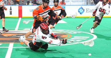 Bandits back on top of NLL East with 14-10 win over Wings