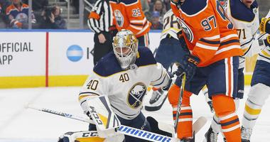 The Sabres are trying to get their team and their goalies going