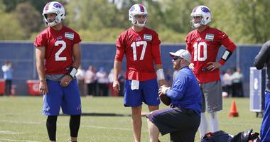 Bills wrap-up training camp still working through QB competition