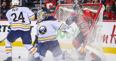 From the Locker Room: Sabres-Flames