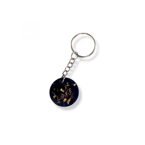 Epoxy Glitter Keychain