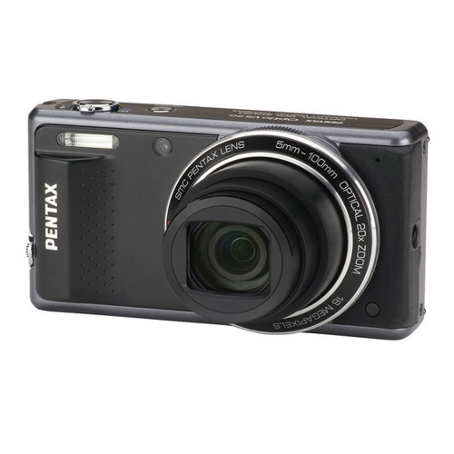 New Pentax Optio VS-20 16MP 20X Long Zoom Digital Camera Free 16GB Card