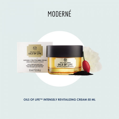 Oils of Life Intensely Revitalizing Cream 50ml