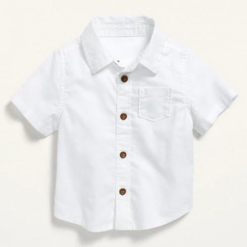 button front pocket shirt