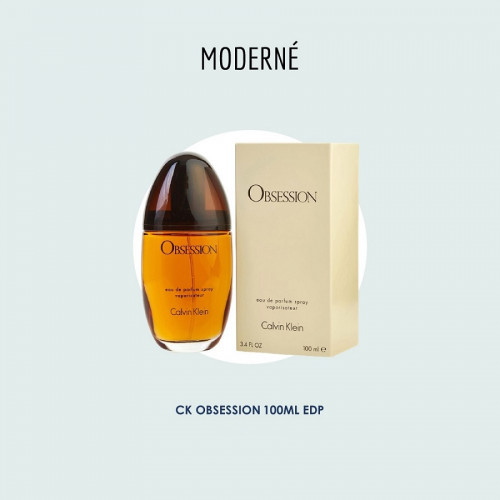 CK Obsession for her 100ml EDP