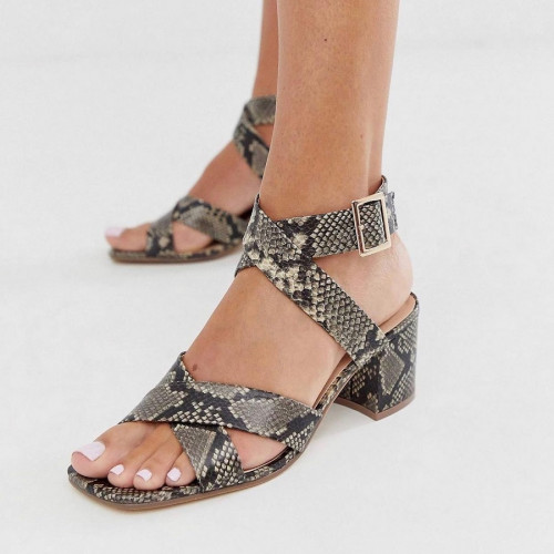London Rebel- Block heels sandals