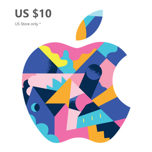 Apple Gift Card US $10 (US Store) - Email Delivery within 1 Hour
