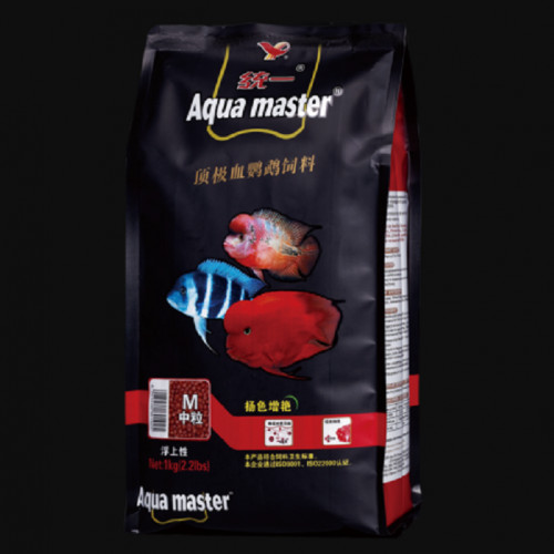 Aqua Master Cichlid Fish Food 1 kg Colour Enhancer