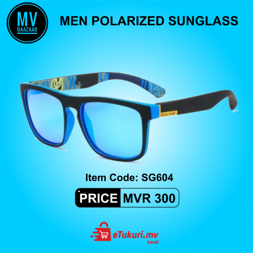 Men Polarized Sunglass Blue Lens Eyewear Eye Glass love Gift sunglasses Eyeglass Ainu Square