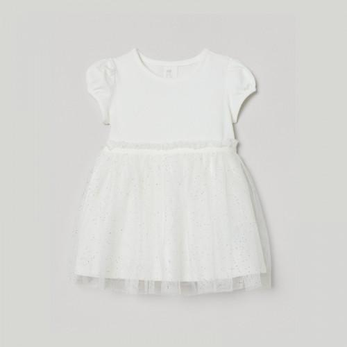 Tulle-skirt dress