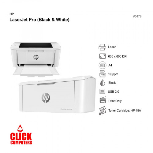 HP LaserJet Pro (Black & White) (Laser/600x600DPI/19ppm/Black)