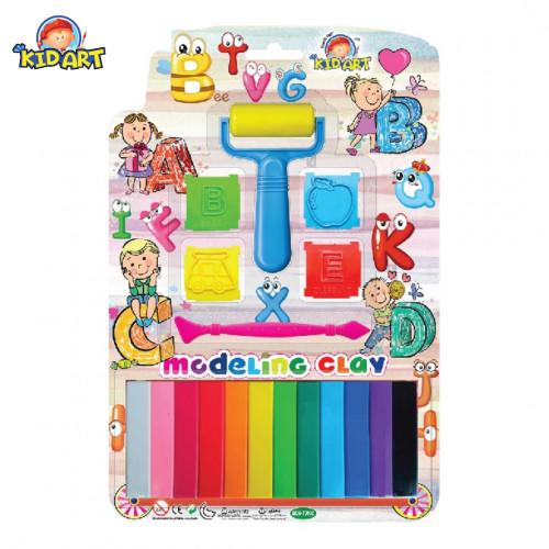 Kidart Modeling Clay Set – 8 Colours