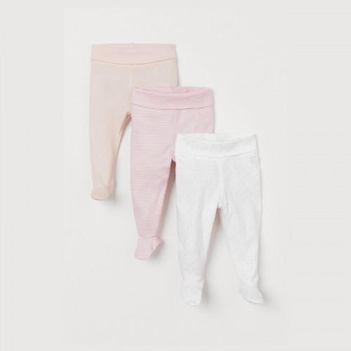 3-pack cotton pants