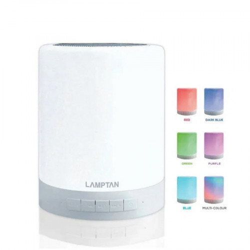 BLUETOOTH SPEAKER WITH LED TOUCH LAMP