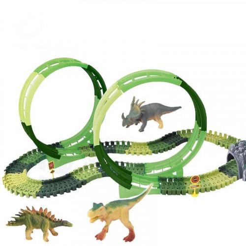 Dinosaur track cars (173 pcs)