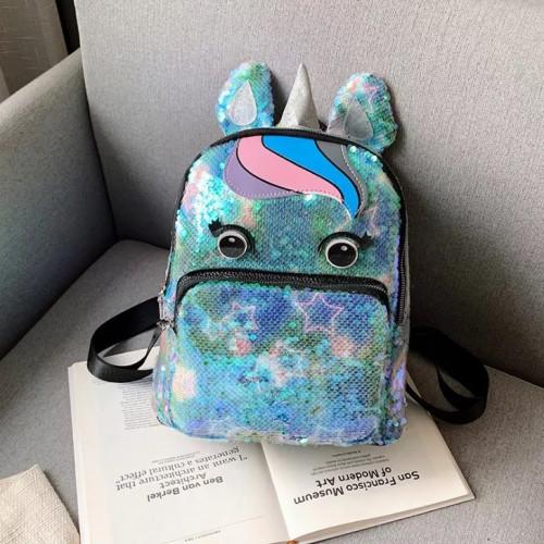 New Eye Unicorn Backback Girls Children's Bag,