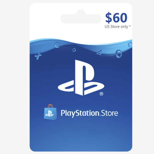 PSN CARD USD60 (US) - Email Delivery