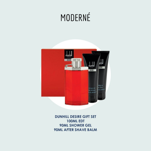 DUNHILL DESIRE RED GIFT SET #3