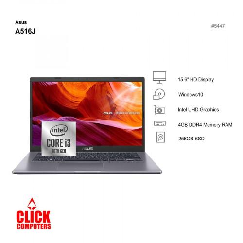 Asus A516J-ABR373TS (4 GB, 256GB SSD, 15.6″)