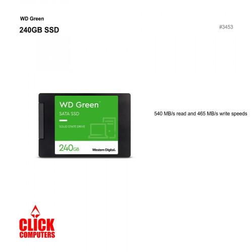 """WD 240GB SSD 2.5"""" SATA GREEN"""