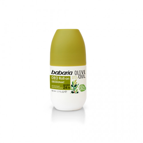 DEODORANTS BABARIA ROLL-ON DEODORANT WITH OLIVE OIL