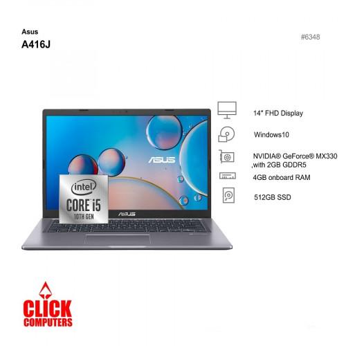 """Asus A416J (14""""/512 SSD/4GB)"""