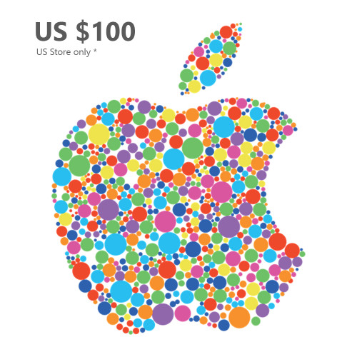 Apple Gift Card US $100 (US Store) - Email Delivery within 1 Hour