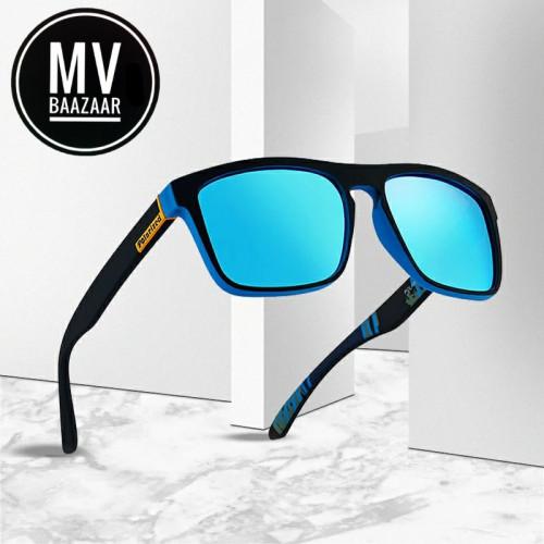 Men Polarized Sungalss Blue Lens Eyewear Eye Glass love Gift