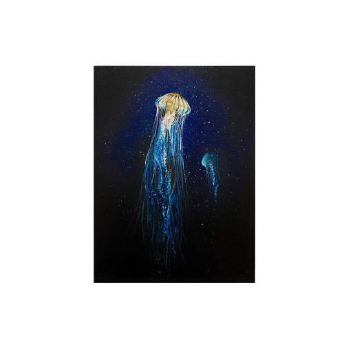 chrysaora (Acrylic Painting)