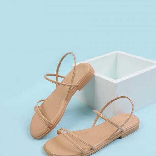 Thin Strap Slingback Sandals