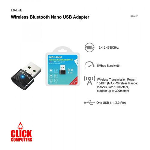 LB-Link Nano Bluetooth Adapter 5.0 500BT