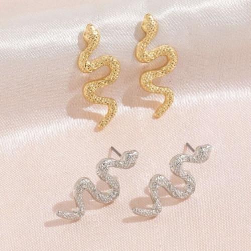 Snake Stud Earrings