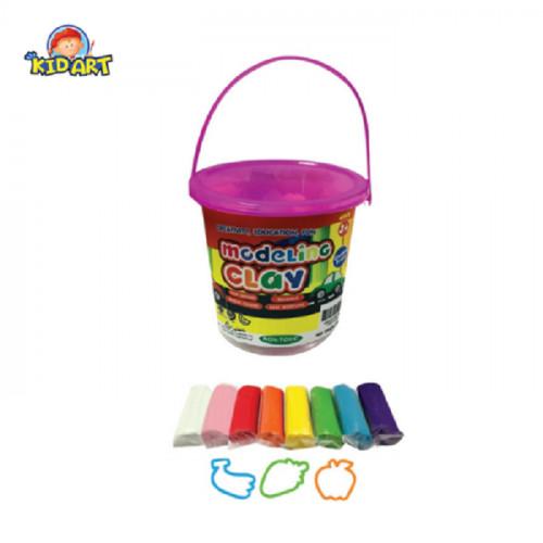 Kid Art Modeling Clay Bucket – 8 Colors