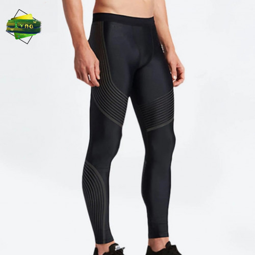 Men's Sports Tights Breathable Stretch Quick-drying Outdoor Sports Basketball Running Fitness Bottoming Compression Pants