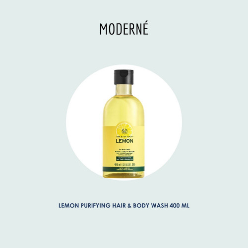 Lemon Purifying Hair & Body Wash 400ML