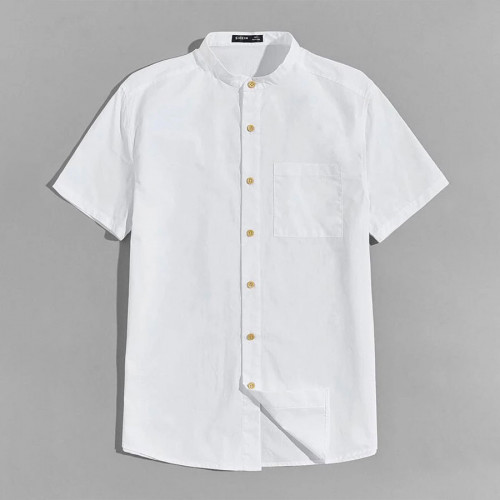 Men white shirt  Size M