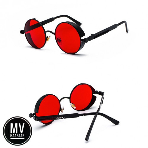 Round Retro Sunglass Unisex Men and Women Fashion Eye Wear