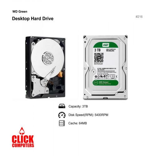 """Western Digital (3TB/5400RPM) 3.5"""" Caviar Green SATA Hard Drive"""