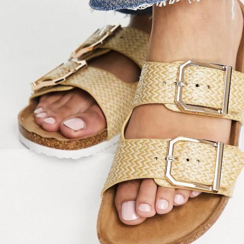NewLook double buckle sandal