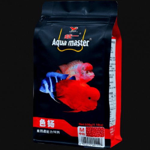 Aqua Master Cichlid Fish Food 500 grm Colour Enhancer