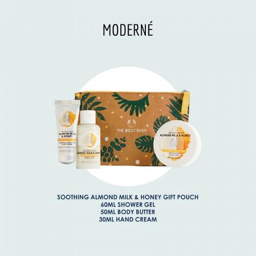 The Body Shop Almond Milk & Honey Travel set