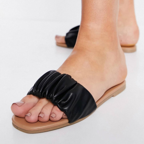 NewLook ruched detail sandal