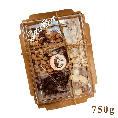 Gift Box assorted nuts (750g)