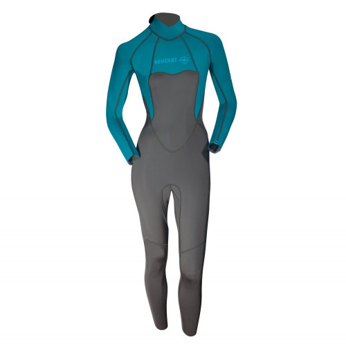 Wet Suit Atoll Mono 2MM - Long Sleeves Atoll Blue - Women