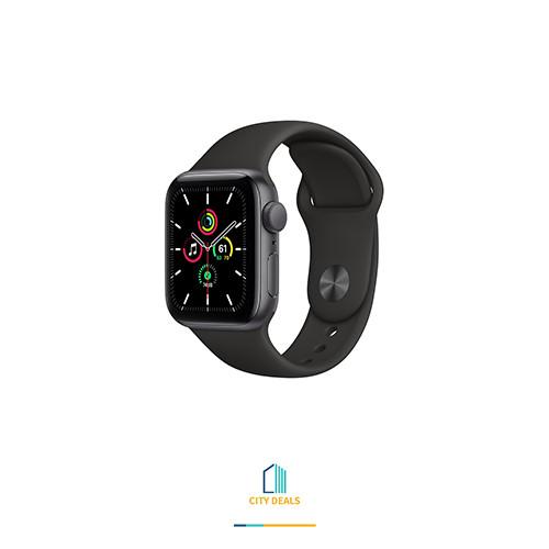 Apple Watch SE 2020 44mm Black Sports Band
