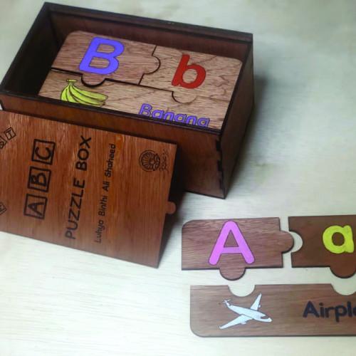 ABC Puzzle (Coloured)