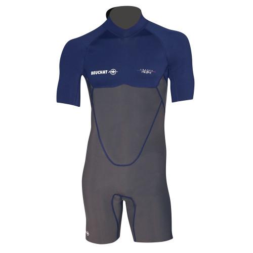 Wet Suit Atoll Mono 2MM - Short Sleeves Deep Blue - Men
