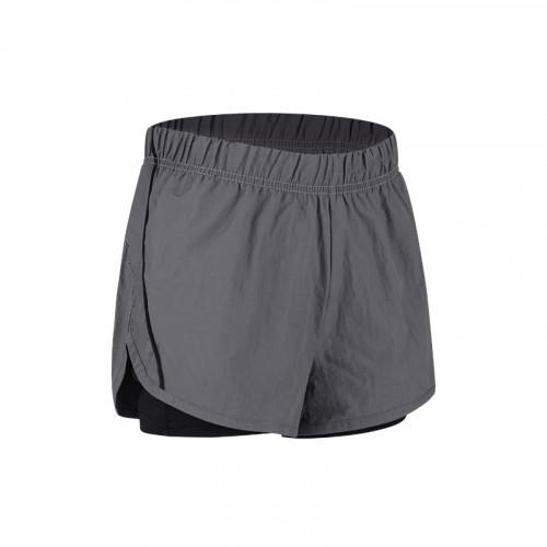 Women's Yoga Shorts Gray